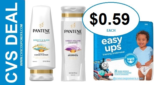 Pampers & Pantene PG CVS Deal 7-5-7-11