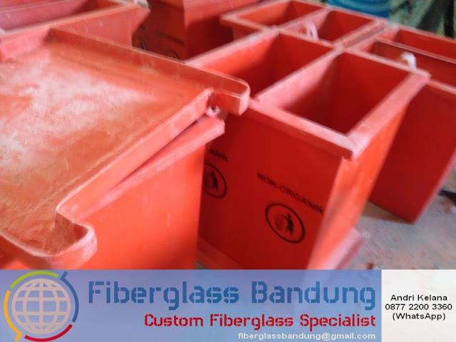 bak sampah fiberglass murah