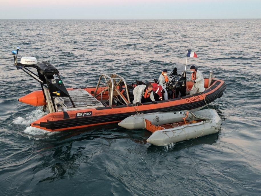 Crise migratoire : Record de traversées de la Manche avec plus de 200 migrants arrivés au Royaume-Uni en une journée