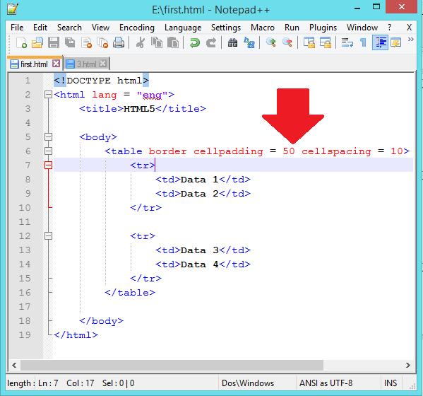 Html table column align left phpsourcecode net for Html table th left align