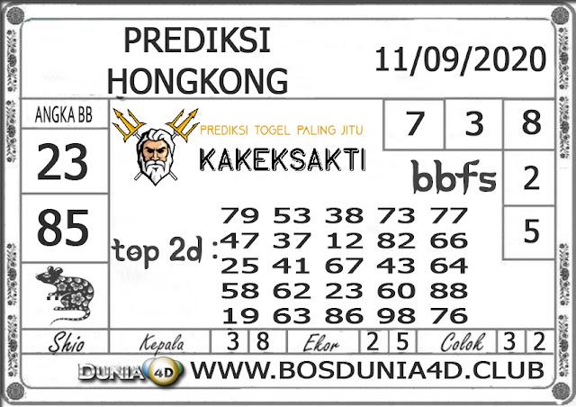 Prediksi Togel HONGKONG DUNIA4D 11 SEPTEMBER 2020
