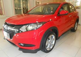 Honda HRV Warna Rally Red
