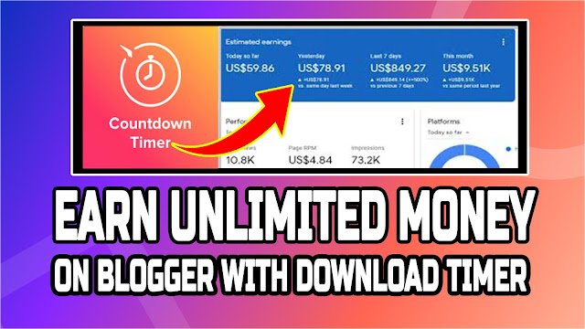 How to Add Countdown Timer Before a Download File by Kamran Jaisak