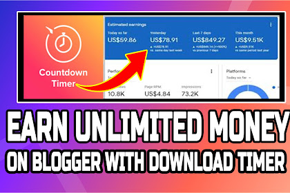 How to Add Countdown Timer Before a Download File