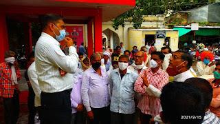 भारतीय किसान संघ ने दिया मुख्यमंत्री के नाम ज्ञापन