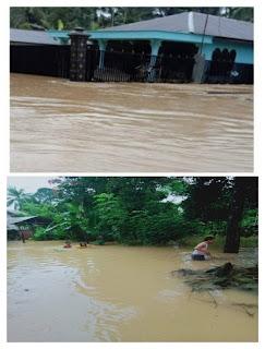 Banjir di Langkat