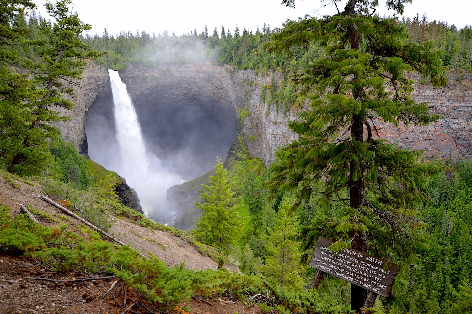 Wells Gray Falls