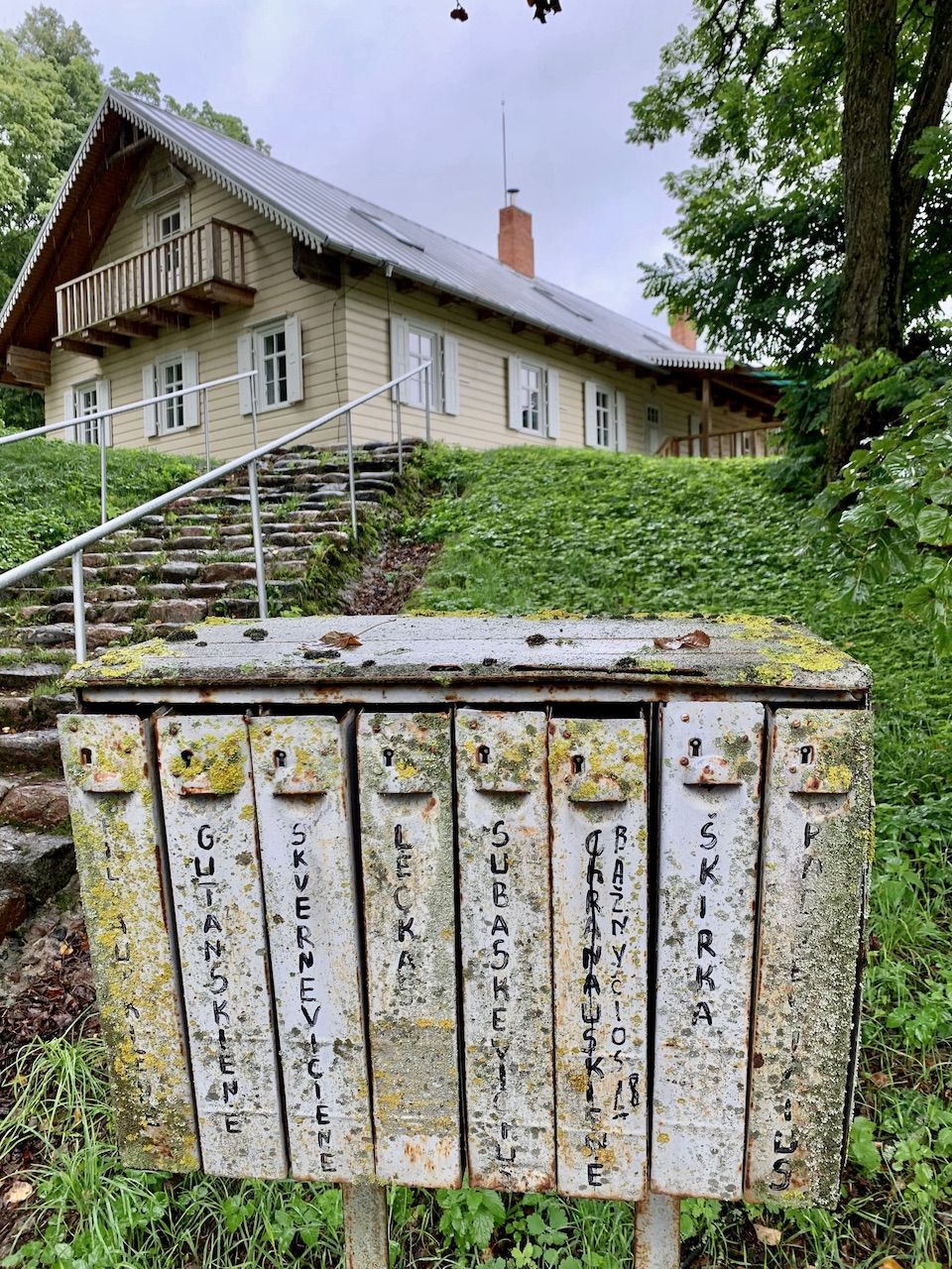 Senos pašto dėžutės Nemajūnuose