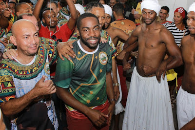 Lázaro Ramos ganha samba enredo pela Império Ricardense