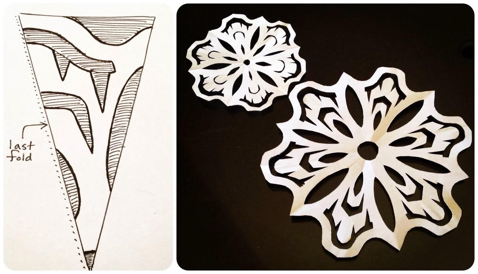 Famoso DIY: Come fare fiocchi di neve con la carta - Paper snowflakes  DT67