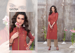 Vastrikaa Mejesty Vol 3 Kurtis With Palazzo Wholesale Rate