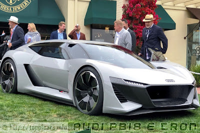 Audi PB18 E-Tron New Look at a High Performance Sports Car