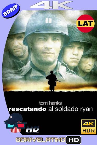Rescatando al Soldado Ryan (1998) BDRip 4K HDR Latino-Ingles MKV