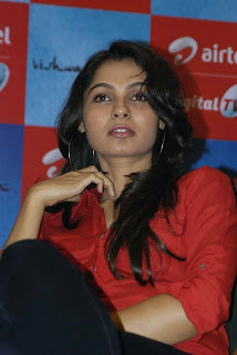 andrea jeremiah Pictures at airtel dth launch9
