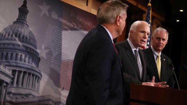 """Senadores de EEUU piden """"sanciones más aplastantes"""" contra Ruisa"""