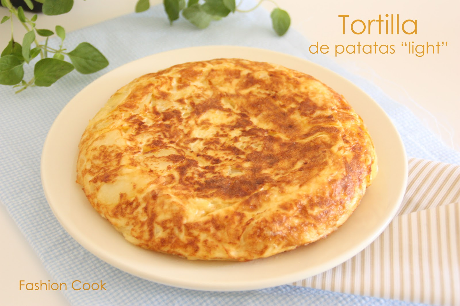 Fashion Cook Tortilla De Patatas Light Thermomix