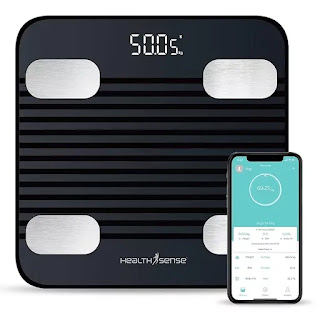 HealthSense Fitdays BS 171 Smart Bluetooth Body Weighing Scale with Mobile App, BMI and Fat Analysis | Best Digital Weighing Machine for Home in India | Best Weighing Machine Reviews