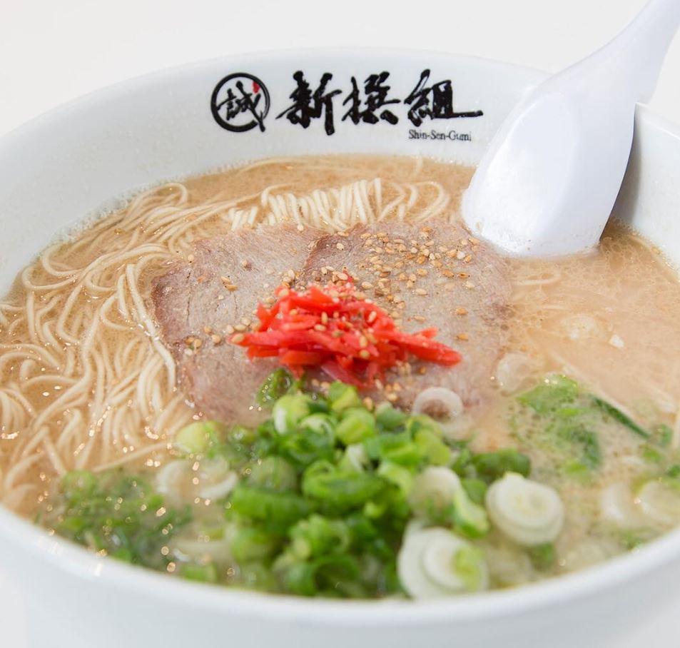 9/28-9/29 | 50% Off Hakata Ramen @ Shinsengumi - Irvine