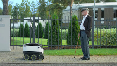 Robots to Replace Delivery Drivers in UK, Europe