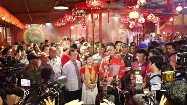 Anies Rayakan Imlek dengan etnis Tionghoa, Gubernur Intoleran?