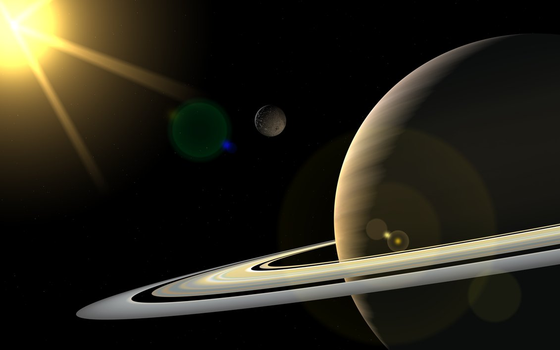 Info-Sniper: P for ParliamentView Of Sun From Saturn
