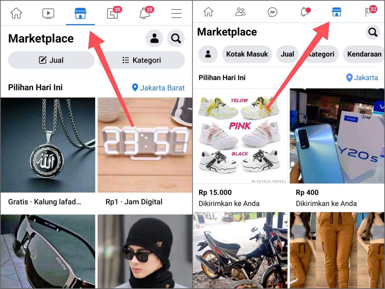 Cara Mengaktifkan Marketplace Facebook Terbaru 2021