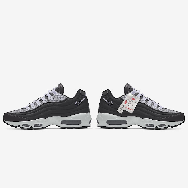 The Must-Have Iconic Nike Sneakers this Festive Season, Nike x 3M, Custom Nike Air Max 95 3M™ By You  Sneakers, Nike Force, Air Max, Blazer, Fashion