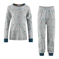 ekologisk barnpyjamas