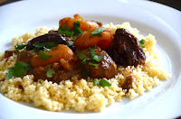 MOROCCAN LAMB TAJINE WITH PRUNES AND APRICOTS