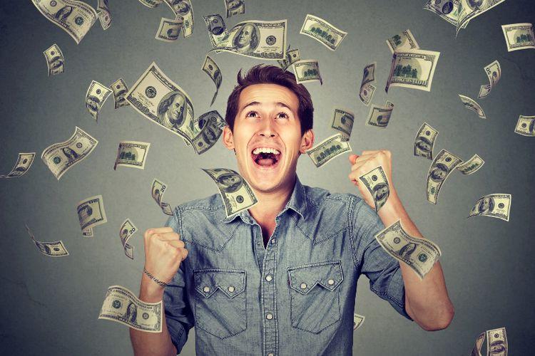 Wow, Orang Ini Mendapat Hadiah Lotere 10 Triliun!