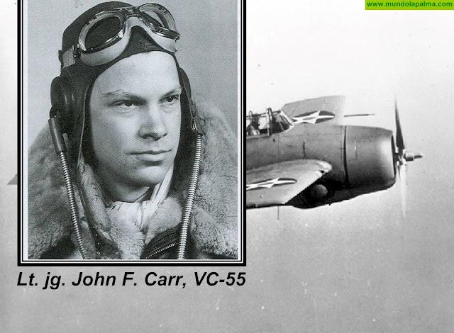 Tijarafe organiza un memorial del rescate del piloto americano John Carr en 1944