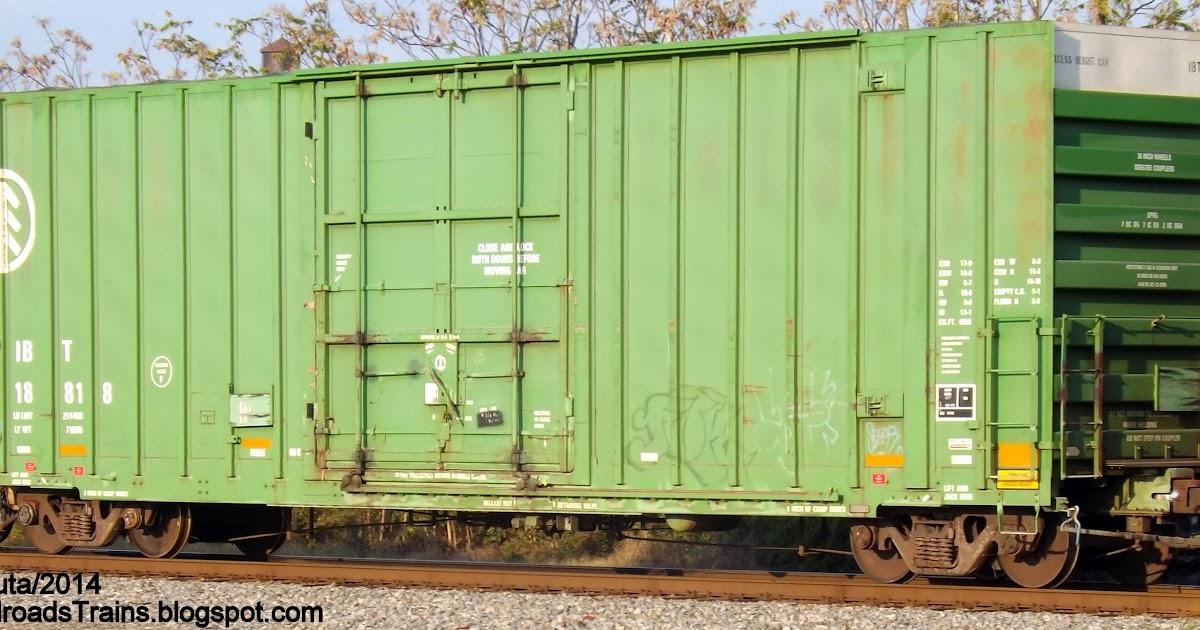 IBT+18818+BOXCAR+Single+Plug+Door+International+Bridge+&+Terminal+Co.+Railway+Rail+Box+Car+Norfolk+Southern+Railroad+Freight+Train+Brosnan+Rail+Yard+Georgia