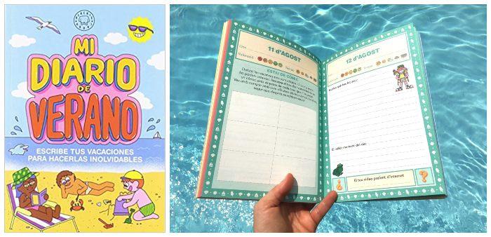 libro actividades Mi diario de verano blackie little