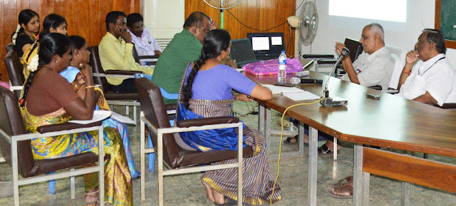 Financial Capacity Management Orientation to SEVAI-RCI team in Trichy.