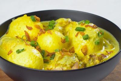 Resep Enak Telur Bumbu Opor Yang Nikmat
