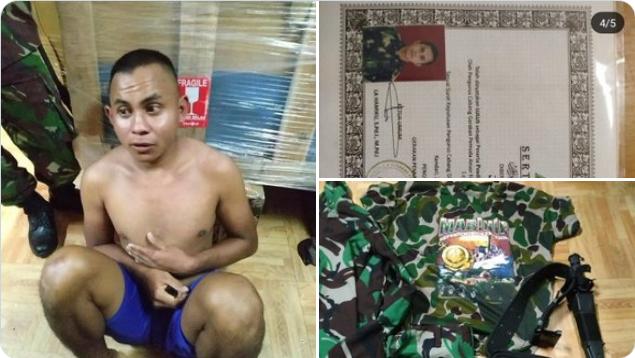 Banser Ditangkap TNI