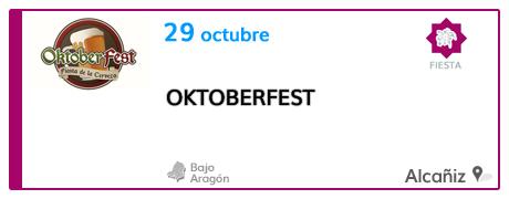I Oktoberfest en Alcañiz