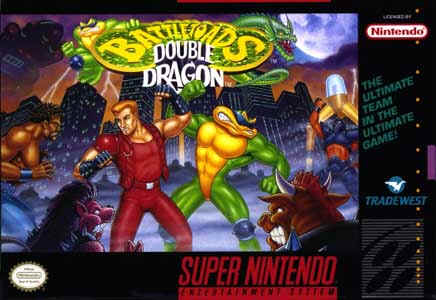 ROMs - Battletoads and Double Dragon (Português) - SNES Download