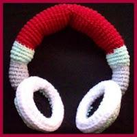 Auriculares amigurumi