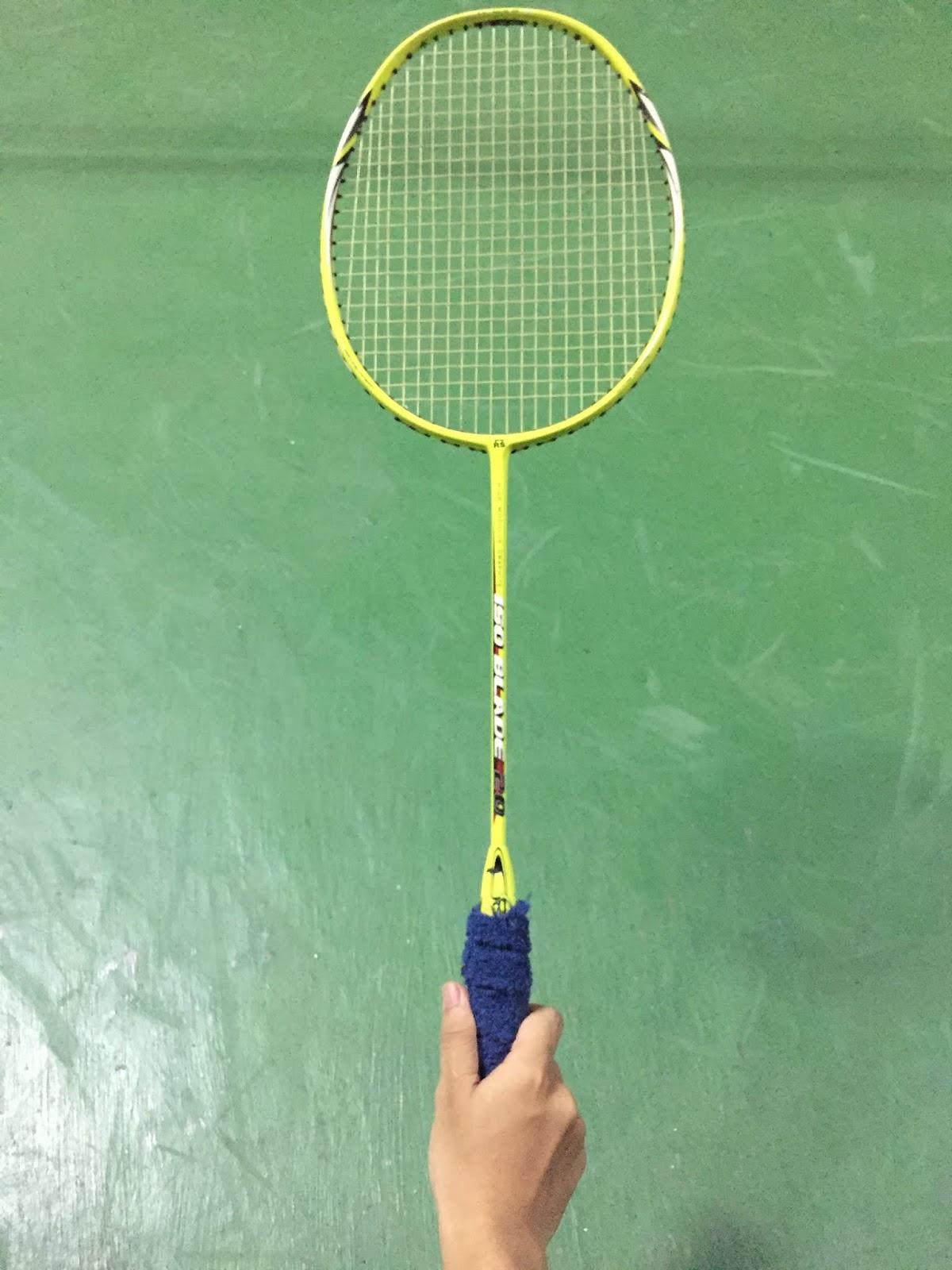 Cara Pegang Raket : pegang, raket, BadmintonSport:, Teknik, Dasar, Bulutangkis