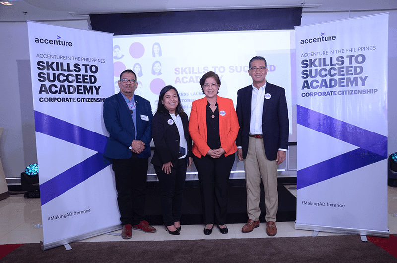 Accenture launches Skills to Succeed Academy