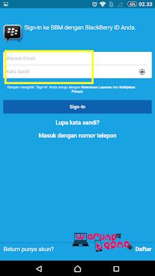 cara backup dan restore chat bbm android 2