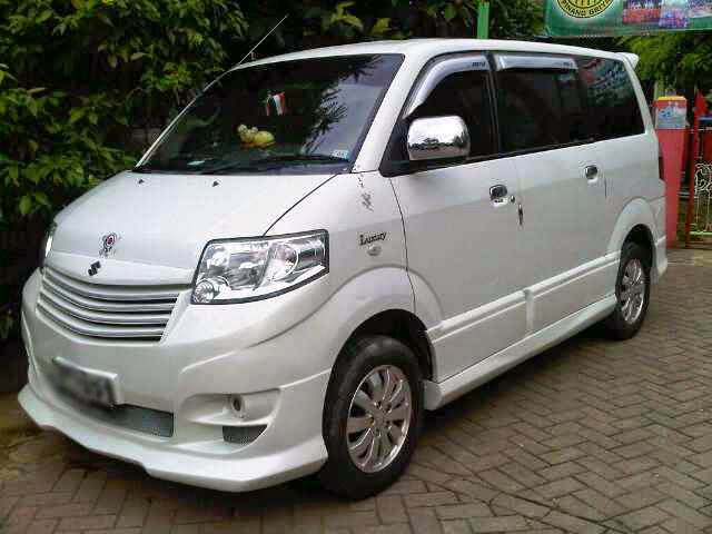 Suzuki APV White Luxury Modified Velg Ceper ...
