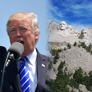 Trump At Mount Rushmore As America Marks Her 244th Independence Day