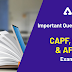 Important Questions for CAPF, CDS and AFCAT Exam 2020
