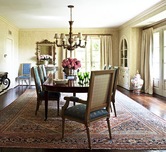 New Home Interior Design: JoBeth Williams' Spanish-Style Home