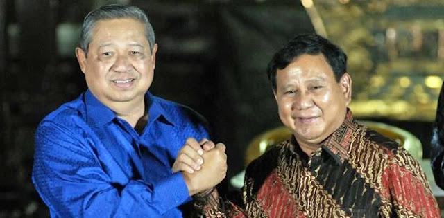 Relawan Jokowi: Prabowo Mati Langkah, SBY Dimainkan