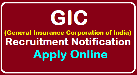 General Insurance Corporation of India GIC Recruitment 2019 – Apply Online for Asst Manager Scale I Posts /2019/08/General-Insurance-Corporation-of-India-GIC-Recruitment-Recruitment-Asst-Manager-Scale-I-Apply-Online-at-gicofindia.com.html