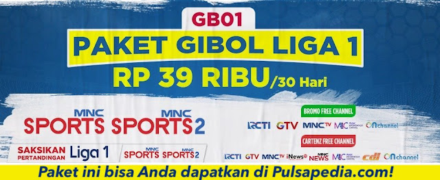 Paket Gibol Liga 1 2020