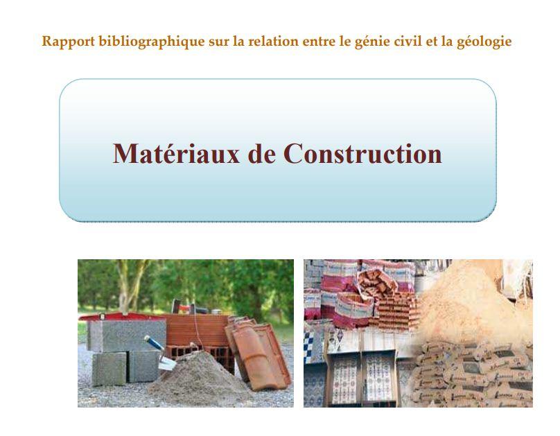 Tous Les Matriaux De Construction  Cours  Outils Livres